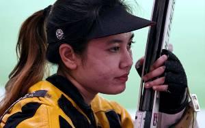 Vidya Rafika Tak Lolos Kualifikasi Menembak 50M
