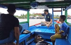BKSDA Pastikan Buaya di Perairan Sekitar Dermaga Penyeberangan di Sampit Jenis Terganas
