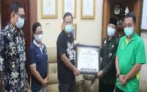 Implementasi Manajemen ASN Dinilai Baik, Pemkab Barito Utara Dapat Penghargaan dari Kanreg VIII BKN