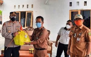 Kapolresta Bersama Forkopimda Salurkan Bantuan Sosial Warga Isoman Covid-19