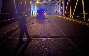 Seorang Pengendara Tewas di Jembatan Pulau Petak