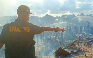 Pria Bakar Rumahnya Sendiri Gara-gara Kesal Ditudul Selingkuh, Puluhan Rumah Ikut Terbakar