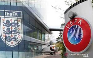 Suporternya Barbar, UEFA Siapkan Sanksi untuk Sepakbola Inggris