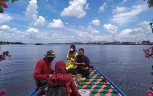 Kemunculan Buaya Mulai Berimbas ke Aktivitas Susur Sungai Mentaya
