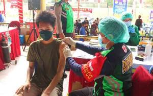 73 Vaksinator Dilibatkan Layani Ribuan Warga di Palangka Raya
