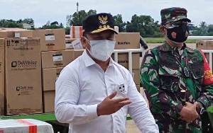 Gubernur Kalteng Harap Presiden Bantu Sukseskan Vaksinasi
