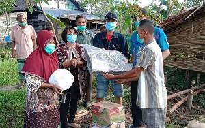 Kecamatan Pulau Petak Salurkan Bantuan untuk Warga Terdampak Kebakaran di Saka Lagun