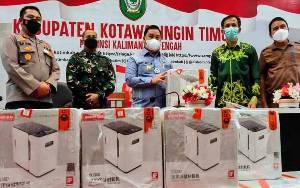 Pemkab Kotim Serahkan Bantuan Oksigen Ekstraktor untuk RSUD dr Murjani Sampit