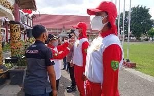 Pemkab Barito Timur Tetap Gelar Upacara Bendera HUT Kemerdekaan ke-76 RI