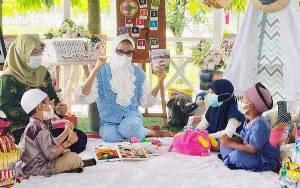 Bunda PAUD Kalteng Ajak Masyarakat Tanamkan Budaya Rajin Membaca kepada Anak Usia Dini