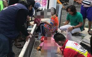 Tiga Remaja Putri di Sampit Jadi Korban Tabrak Lari