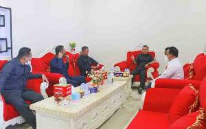 Ketua DPRD Seruyan Terima Kunjungan Ketua Pengadilan Agama