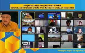 Anggota DPR RI Dorong Penguatan Daya Saing Koperasi dan UMKM Kalteng di Tengah Pandemi
