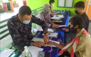 SMP Negeri 2 Sampit Berkomitmen Disiplin Arsipkan Data Peserta Didik dan Alumni