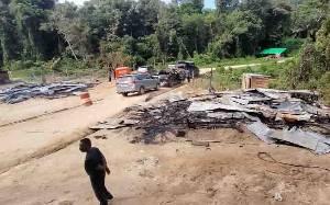 Polres Lamandau Kembali Tetapkan 7 Tersangka Pembakaran Kamp Koperasi di Kebun Sawit Desa Suja