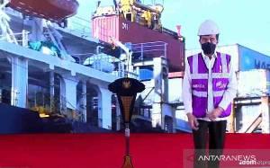 Presiden Jokowi Lepas Ekspor Komoditas Pertanian dari 17 Pintu