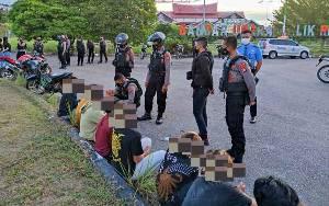 Puluhan Pembalap Liar di Palangka Raya Diamankan Polisi