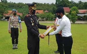 Personel Polres Lamandau Bertugas Pemulasara Jenazah Covid-19 Diberi Penghargaan