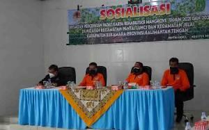 DLH Sosialisasikan Percepatan Rehabilitasi Mangrove dalam Rangka PEN