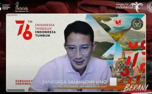 Sandiaga Uno Ajak Generasi Muda Jadikan Indonesia Pusat Ekowisata Dunia