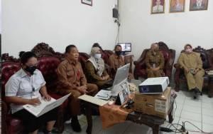 Dinas Dukcapil Kapuas Ikuti Rapat Virtual Bersama Kemendagri Bahas ini