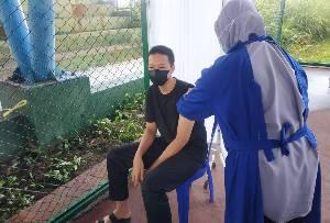 Ini Realisasi Vaksinasi Covid-19 Usia Remaja di Seruyan