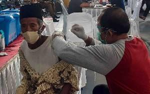 Vaksinasi Lansia Dosis Pertama di Kobar Mencapai 41,12 Persen