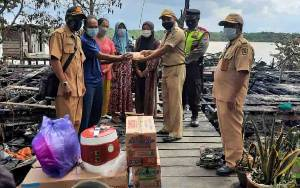 Bantuan Mengalir untuk Korban Kebakaran di Mendawai Katingan