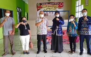 BPS Barito Timur Lakukan Pembinaan Statistik ke BPBD Damkar