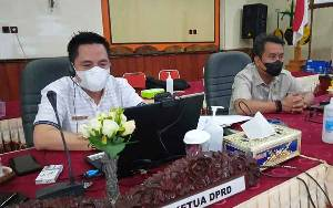 DPRD Bartim Sampaikan Putusan Terkait Raperda Pertanggungjawaban APBD Tahun 2020