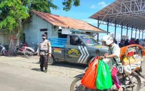 Polisi Patroli ke Feri Penyeberangan Jaga Kamtibmas