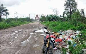 BKSDA Temukan Tumpukan Sampah di Lingkar Selatan Diduga Pengundang Beruang