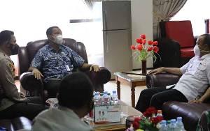 Kepala BNNP Kalteng Kunjungan ke Seruyan, Ini Tujuannya