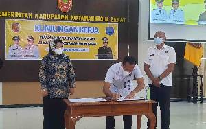 BNNP Kalteng - Pemkab Kobar Tingkatkan Sinergitas Cegah Peredaran Narkoba