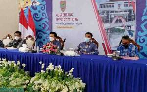 Pemkab Barito Utara Ikuti Musrenbang Rancangan RPJMD Provinsi Kalteng Tahun 2021-2026