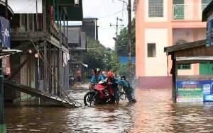 Sejumlah Wilayah di Kabupaten Barito Utara Banjir