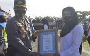 10 Personel Polres Katingan Dapat Penghargaan karena Berhasil Ungkap Kasus