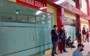 41 Jenazah Korban Kebakaran Lapas Tangerang Dibawa ke RS Polri