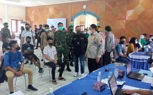 Vaksinasi Massal Industri Jasa Keuangan di Kalteng kembali Dilaksanakan