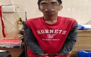 Terekam CCTV, Residivis Kasus Pencurian Kembali Ditangkap