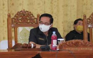 Ketua DPRD Gunung Mas Imbau Warga Selalu Waspada Bencana Banjir