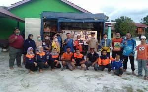 Wakil Bupati Apresiasi Relawan dari Kalsel Bantu Korban Banjir di Katingan