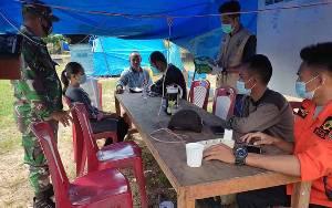 Puskesmas Telaga Pulang Berikan Pelayanan Kesehatan untuk Warga Terdampak Banjir
