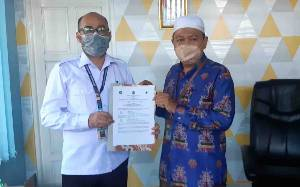 MTsN 2 Kapuas dan Puskesmas Anjir Serapat Jalin Kerjasama Penerapan Prokes pada PTM Terbatas