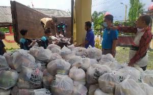 PGRI Kotim Mulai Salurkan Bantuan untuk Koban Banjir
