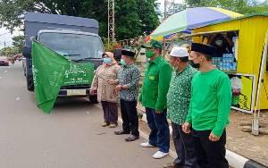 Wakil Bupati Barito Timur Lepas Bantuan Kemanusiaan ke Katingan