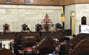 Banggar DPRD Kapuas Sampaikan Laporan Hasil Pembahasan Rancangan Perubahan KUA-PPAS