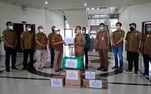 Bupati Katingan Kembali Terima Bantuan Sembako untuk Korban Banjir