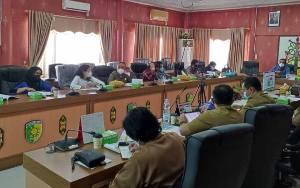 DPRD dan Pemko Palangka Raya Mulai Bahas Rancangan KUA-PPAS APBD 2022