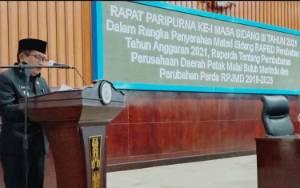 Pemkab Murung Raya Sampaikan 5 Program Prioritas Kepada DPRD